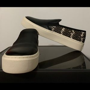 Coach Cameron shoes genuine leather and snakeskin